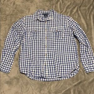 Old Navy Men's Long Sleeve Casual Button Shirt